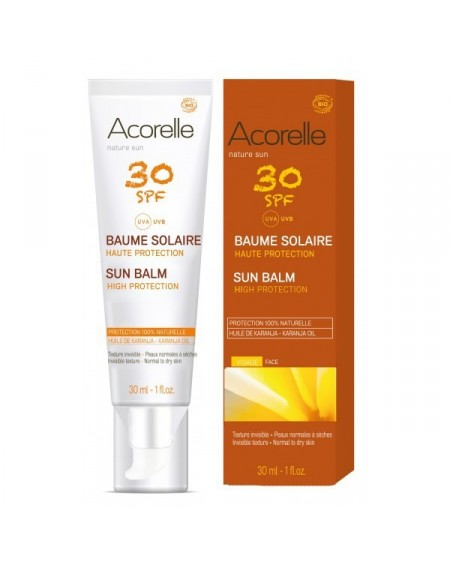 Gel Solar Facial F30 Bio 30ml Acorelle