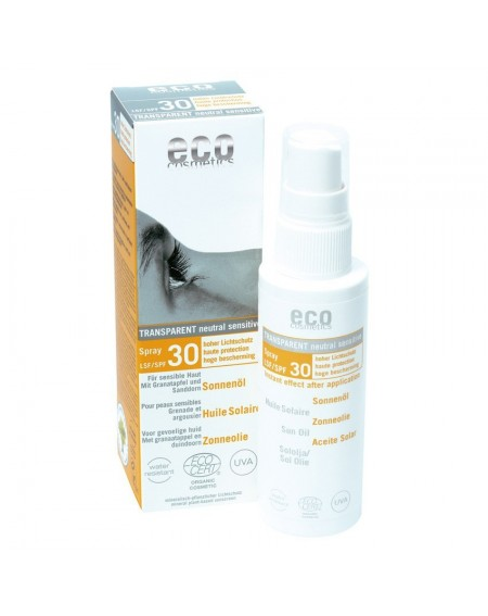 Aceite Solar Mineral en Spray SPF 30 Eco-Cosmetics 75ml