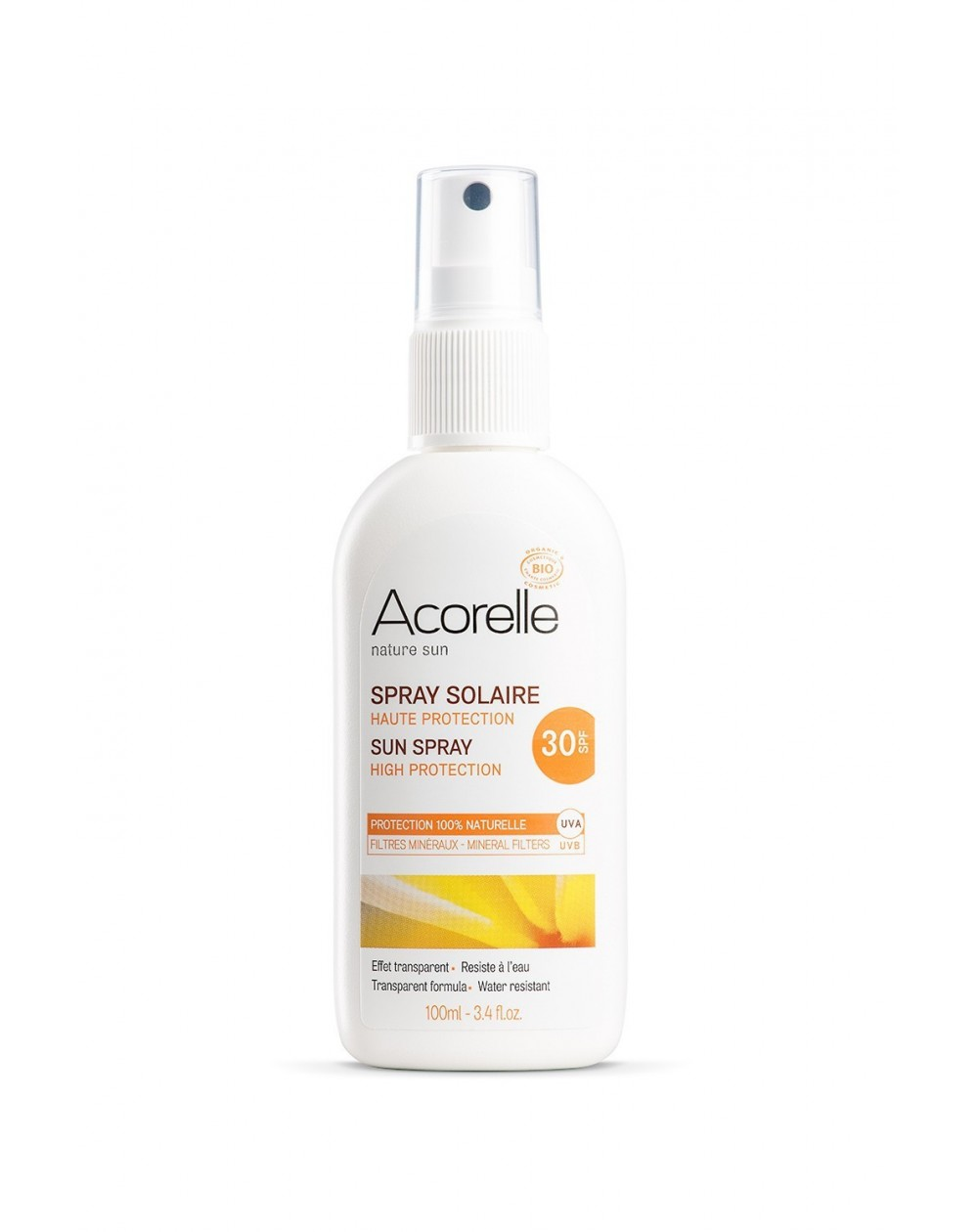 Spray Solar Cara Cuerp F30 Spr 100ml Acorelle