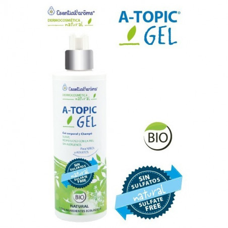 Gel & Champú Bio Pieles Atópicas A-Topic Natur 400ml